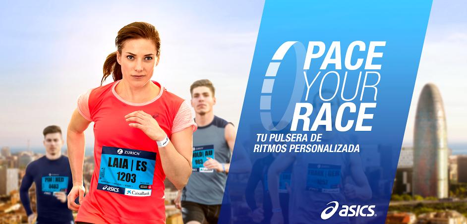 ASICS OFRECE PACE YOUR RACE A TODOS LOS CORREDORES DE LA ZURICH